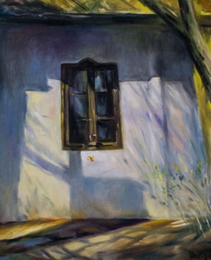 Petro Sholtes, Mysterious window