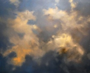 Clouds, 2009, oil on canvas, 125x150