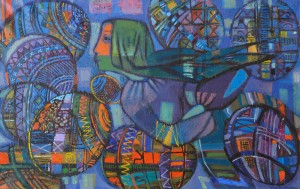 O. Kondratiuk. Easter Night, 2013, oil on canvas