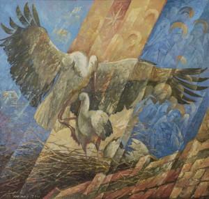 Y. Bodnar. Storks, 2011