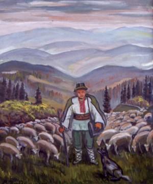 Пастушок, 1997, п.о., 74х63
