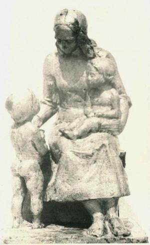 Курсове завдання Материнство, 1983, епоксидна смола