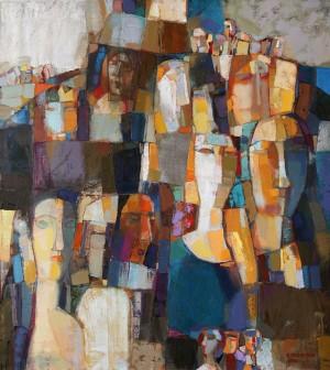 Voices, 2008, 100x90