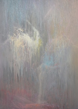 Breath of Grey 2015acrylic on canvas 275x200.