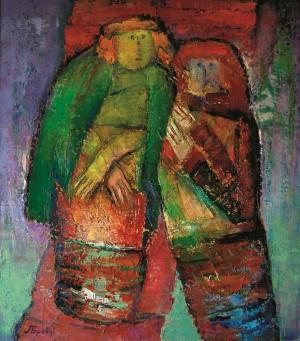 Червоний килим, 2009, п.о., 70х60