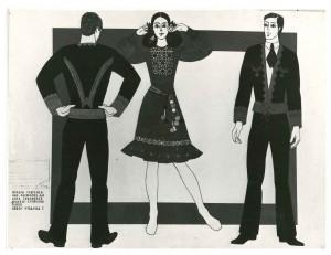 Ескізи костюмів, 1974