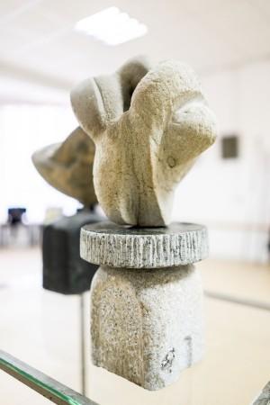 Корж Б. 'Кам'яний млин', 2017, граніт, пісковик