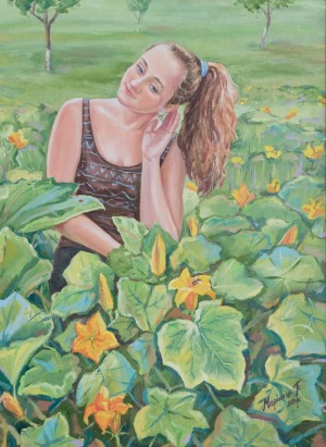 Melody of Summer, 2013, oil on canvas, 55x75