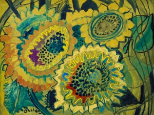 F. Seman, Sunflowers, 1992
