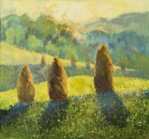 The Time of Haymaking, 2013, oil on canvas, 70x75