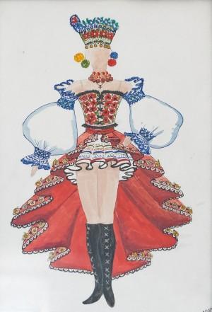 Ескіз костюма