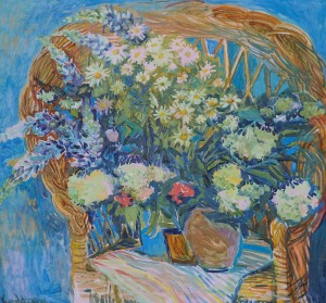 O. Kondratiuk. Spring Blossom, 2012, oil on canvas