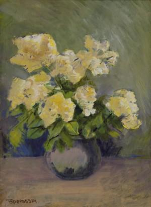 Натюрморт з квітами, 2015, к.о., 73х57