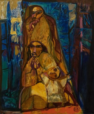 A. Kovach  Shepherds are bowing and see God, 2015