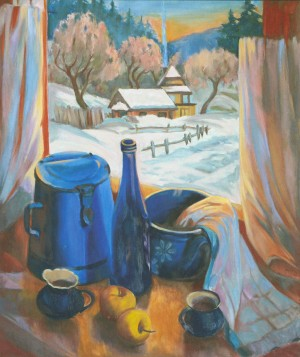 Морозний вечір, 2011, 80х60