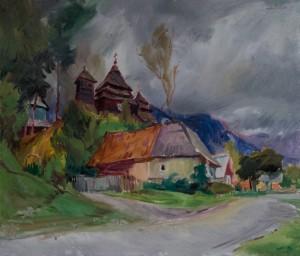 Сандюк В,. Ужок. Мотив, 2017, п. о., 60х70