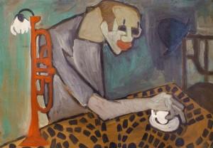 Семан Ф. Старий клоун, 1960-ті