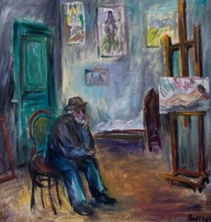 Petro Sholtes, Meditating artist
