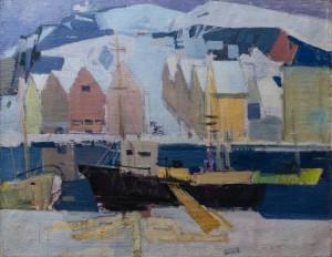 'Norway', 1966, 100x80