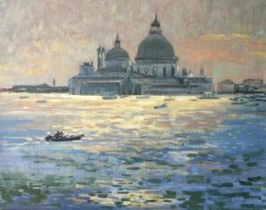 Срібна Венеція, п.о., 50х60