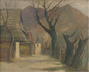 'Village', 1935, oil on canvas, 42x51.png