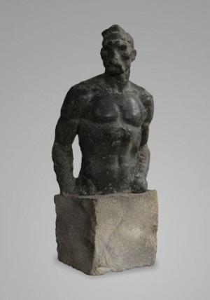 Максим Кривоніс, 1980, шамот, 35х15х11