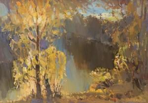 Золоте дерево, 2015, к.о.