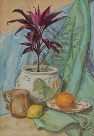 Still Life with Fruits, 2011, oil on canvas, 40x60