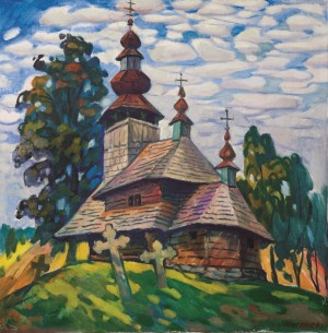 M. Mytryk. The old church