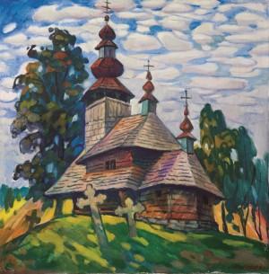 Митрик М. Стара церква, 1997, п.о., 70х70