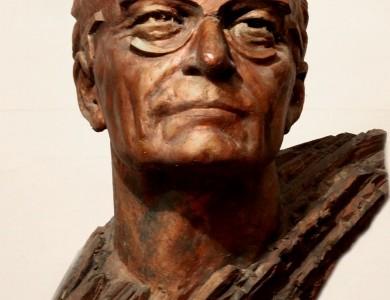 Portrait of the writer Vasyl Hrendzhi-Donskyi, 1991