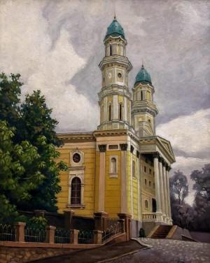 'Собор', к.о., 50х40