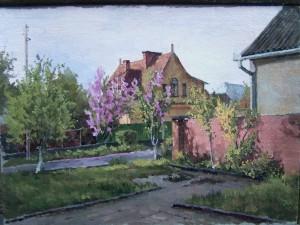 Куточок Ужгорода. Етюд, 2016