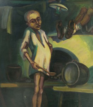 Голод, 1930-ті, к.о. 62,5х54,5