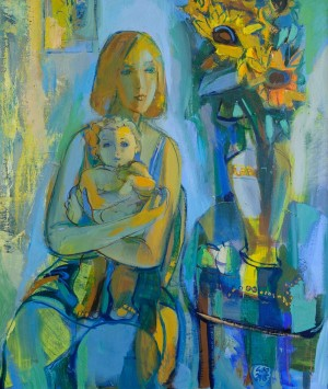 "A. Kovach ""Motherhood"", 2015, oil on canvas"