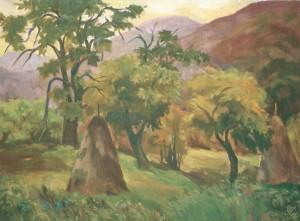 Лумшорська осінь, 2005, п.о., 50х70