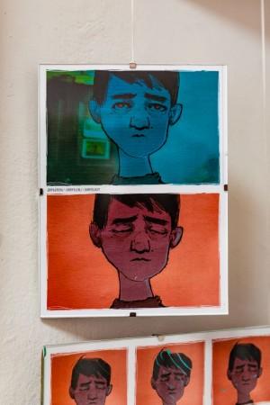 D. Yehorova Triptych '...' (part)