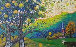 Кондратюк О. Карпатські яблуньки, 2011, п. о.