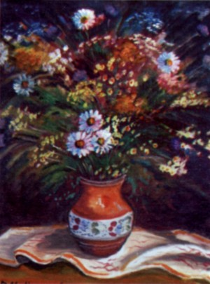 Польові квіти, 2006, п.о., 70х60