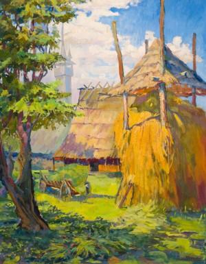 Дербаль В. Літній день у селі