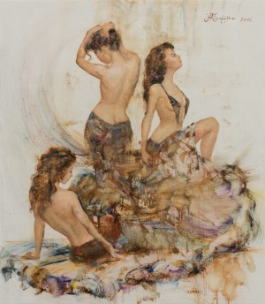 A. Kartashov Three graces, 75x60, c.о. 2016