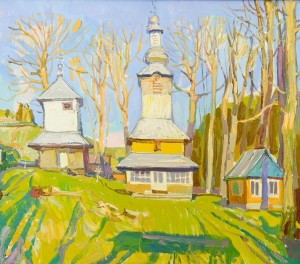 "A. Kovach ""Church"", 2015, oil on canvas"