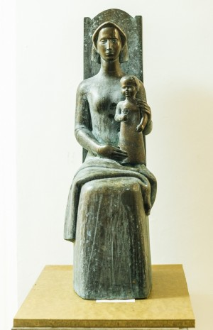 Материнство, бронза