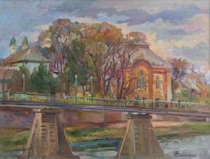 T. Sopilniak Uzhhorod.Footbridge, 2016