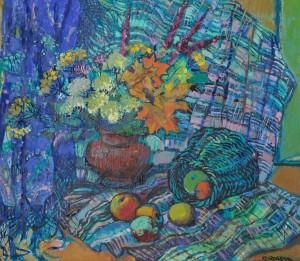 O. Kondratiuk. Autumn Still life, 2014, oil on canvas