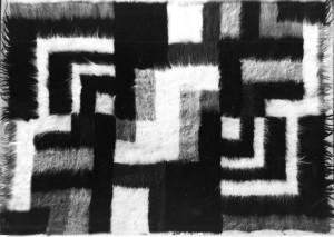 декорат. композиція, ліжник, 1989, 157х224