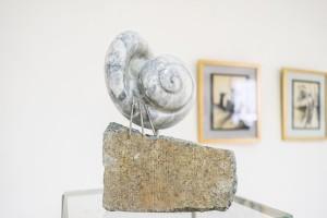 B. Korzh Shell', 2017, marble, labrodorite