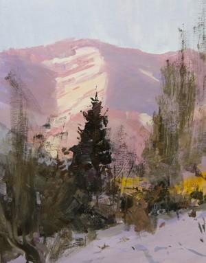 Pink Celebration.Winter2017oil on canvas65x50.