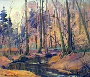 Осінній ліс, 1989