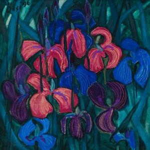 F. Seman, Irises, 1996